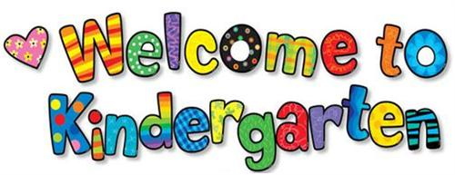 Image: Welcome to Kindergarten
