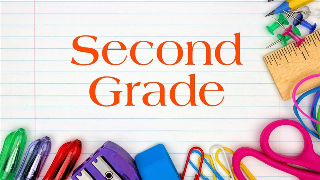 Second Grade Welcome