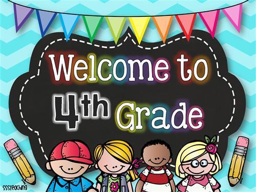 Grade 4 Welcome
