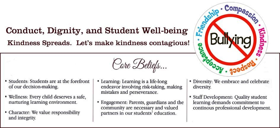 Conduct, Dignity and Student Well-being
