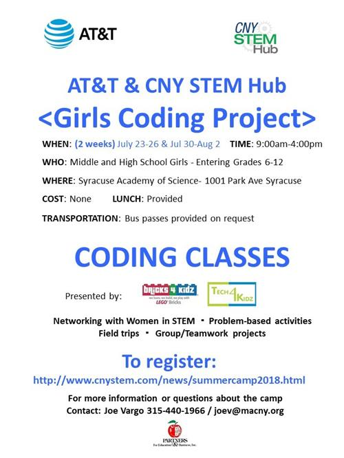 Coding Camp Poster