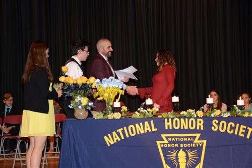 Honor Society Induction Ceremony