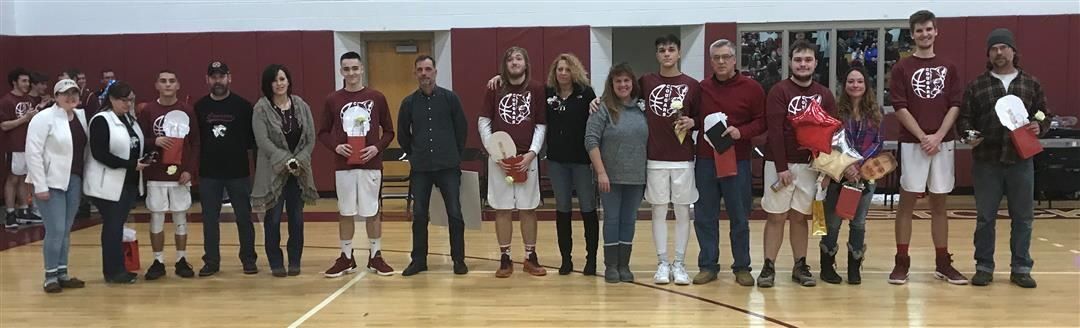 Boys Basketball Senior Night