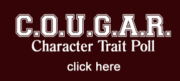 COUGAR Character Trait Poll